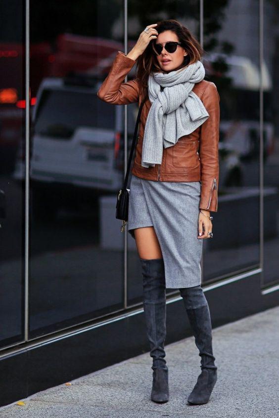 модная ассиметричная юбка 2018