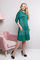 Платье Фирзих р 50-56 изумруд, фото 1