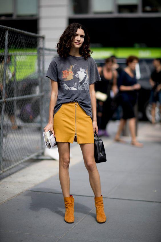 модная юбка мини весна 2018