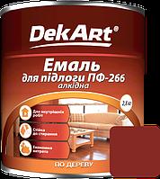 Емаль DekArt ПФ-266 червоно-коричнева (2.8 кг)
