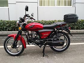 Мотоцикл HORNET Alpha (Classic) 125куб.см, красный ( БИЗОН )