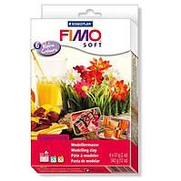 Набор FIMO для изготовления бижутерии Warm Colours 6 цв. по 57 гр. 8023-03