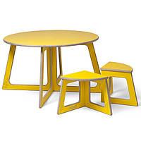 """Столик + 4 стульчика """"Квартет"""""""