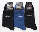 Чоловічі високі шкарпетки бавовна Мілена носки, фото 2