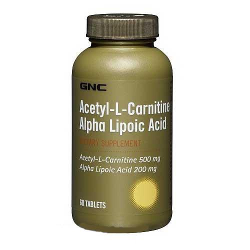 Acetyl-L-Carnitine Alpha-Lipoic Acid / Ацетил Л-Карнитин 60 капсул
