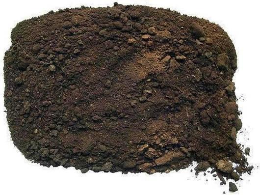 Чернозем плодородный зернисто-комковый насыпью