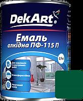 Емаль DekArt ПФ-115П зелена (0.9 кг)