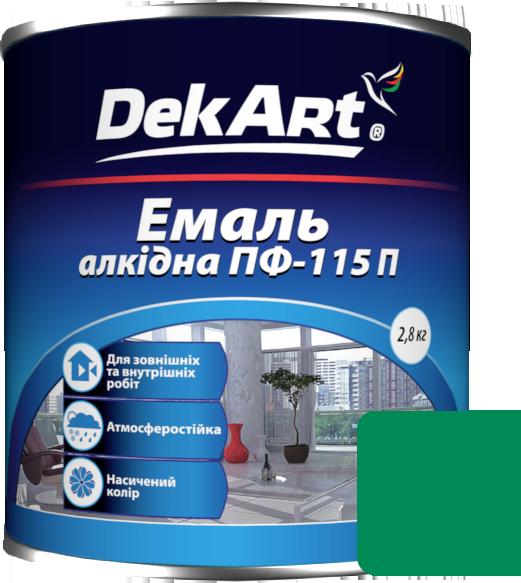 Емаль DekArt ПФ-115П світло-зелена (2.8 кг)