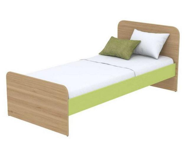 Кровать под матрас 900х1900 Кв-11-10 Акварели зеленые