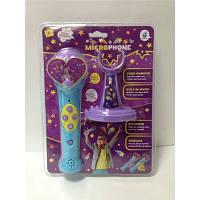 Микрофон на подставке (2 вида)розовый/голубой 5259, фото 1