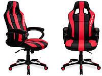 Кресло компьютерное игровое спортивное PRO-GAMER DAYNOTA КРАСНОЕ НАЛИЧ