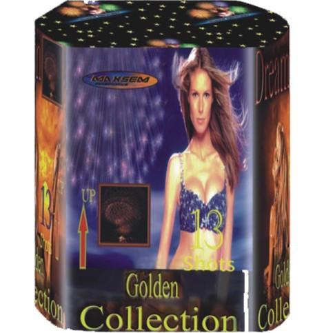 Фейерверк \ Салют GOLDEN COLLECTION Золотая коллекция Калибр 30мм \ 13 выстрелов BS13-002