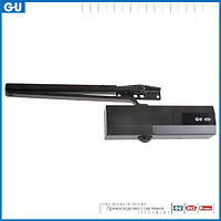 Доводчик GU OTS 210 (коленная тяга фиксацией) черный