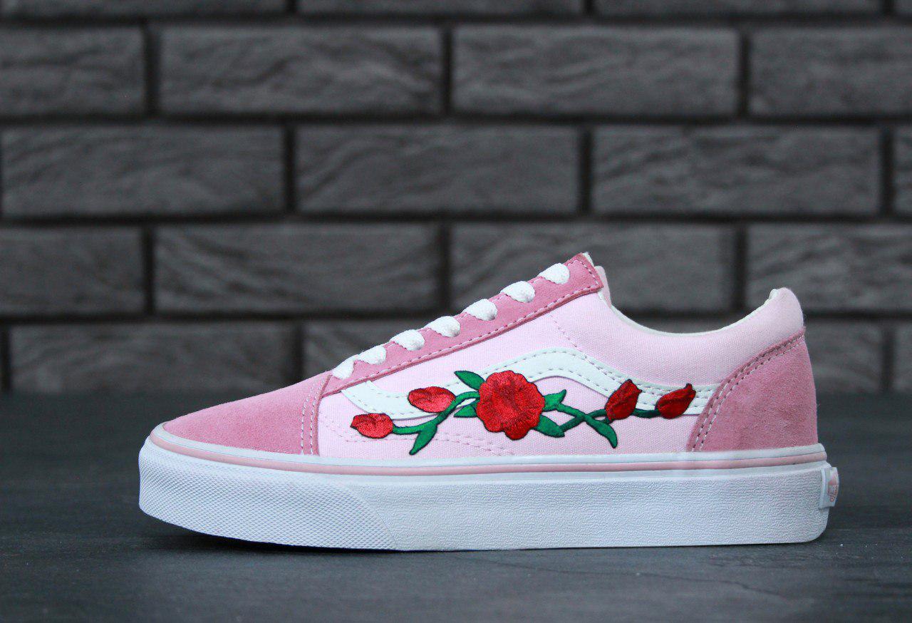 Женские кеды Vans Old Skool Pink топ реплика, цена 999 грн., купить ... 6acaf92f720