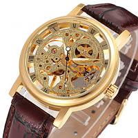 Winner Женские часы Winner Gold  Brown