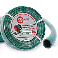 Шланг для полива 3/4 30 м 3-х слойный армированный PVC Intertool GE-4045