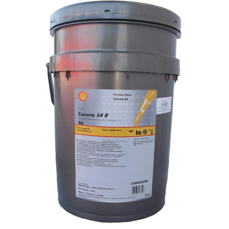 Компрессорное масло Shell Corena S4 R46 (синтетическое)