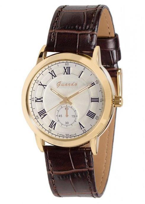 Часы Guardo  05763 GWBr  кварц.