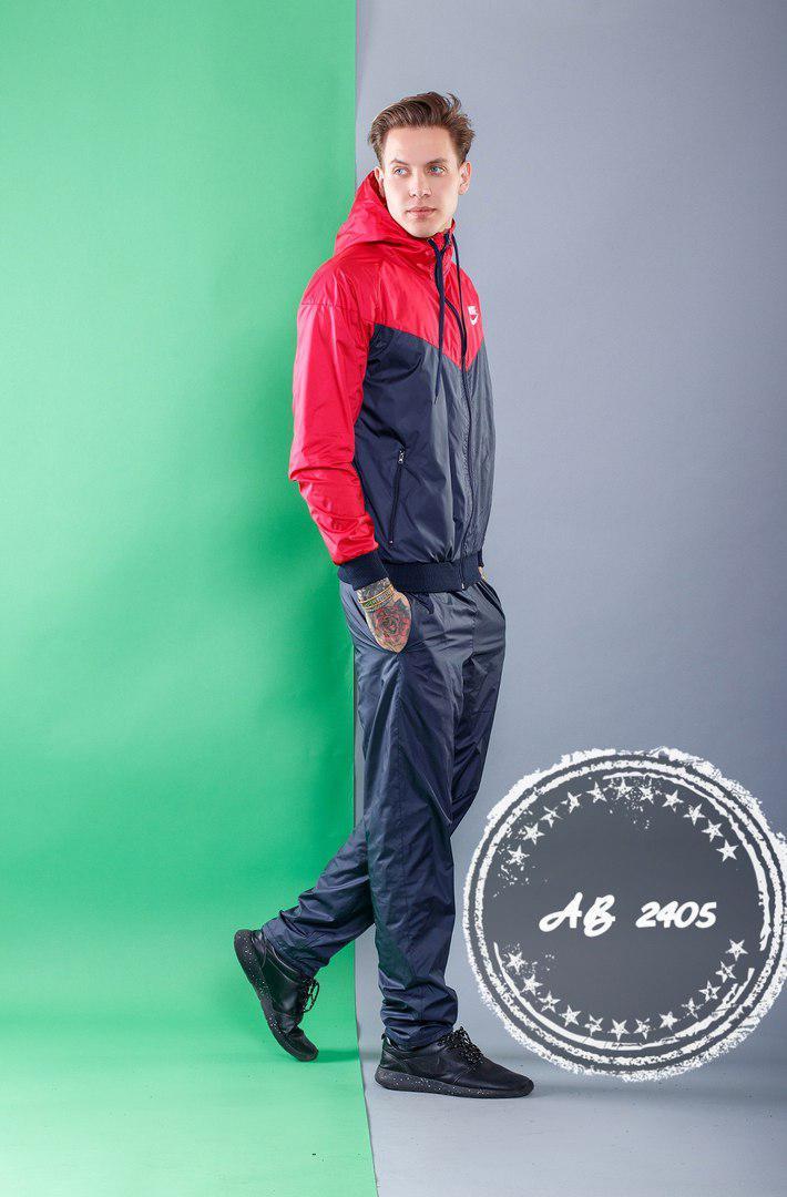 55ccc336 Мужской спортивный костюм плащевка на подкладе. (5 расцв.) -  Интернет-магазин