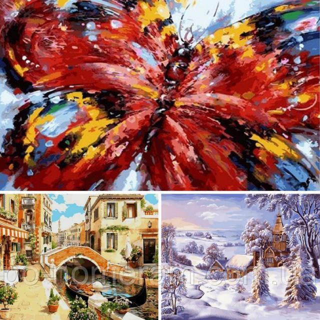 Картины Babylon Premium — весенние новинки на цветном холсте