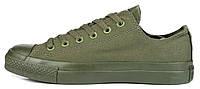 Кеды в стиле  Converse ALL STAR (конверсы) Зеленые в коробке, фото 1