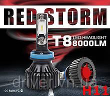 Лампочки LED H11 (H8)  T8 6500K / 8000Lm, 9-32V
