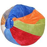 Бескаркасное мягкое Кресло мяч пуф АРБУЗИК детское, фото 2