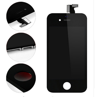 Дисплей (LCD) iPhone 4 с сенсором чёрный