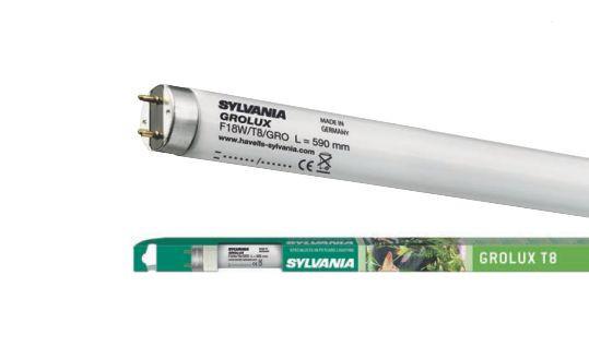 """Лампа для растений F 25W / 30"""" / GROLUX Т8 G13 SYLVANIA"""