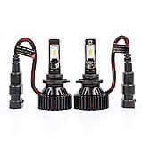 Лампочки LED HB4 (9006) T8 6500K / 8000Lm, 9-32V, фото 3