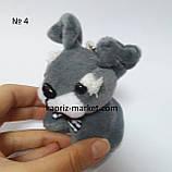 Брелок собачка, на маленькой цепочке, фото 4