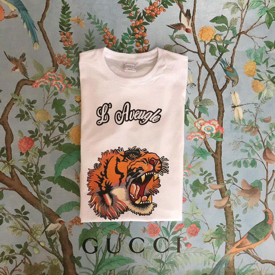 Футболка Gucci, тигр