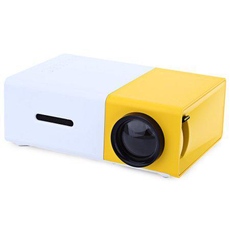 Портативный мини проектор LCD YG-300