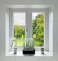 Металлопластиковое окно Европейский профиль Steko R700 Eko 7-х камерное