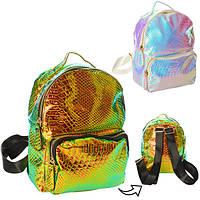 Рюкзак 1082-2  застежка-молния, наружный карман, внутренний карман, 2 цвета, в кульке, 22-22-9см