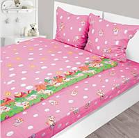 Комплект детского постельного белья 147х112 Бязь