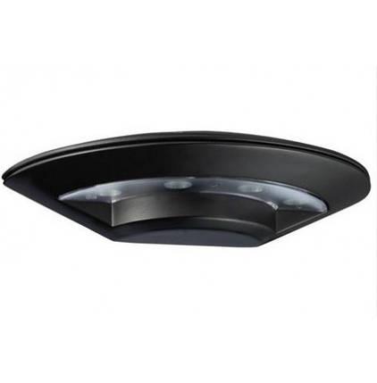 Фасадный уличный светильник Horoz HL237L 5.5W черный IP44 Код.58325, фото 2