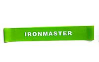 Фитнес лента (лента сопротивления) IRONMASTER (S, 4 кг) (салатовый)