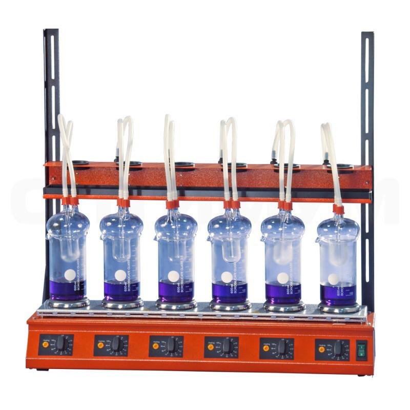 Система для кислотного гідролізу EXR 6, шестимісний, комплект, 9843727, BEHR, B00233174