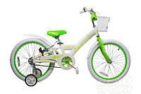"""Велосипед Comanche Florida Fly W16, рама 8"""", белый-зелёный"""