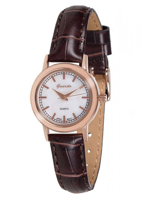 Часы Guardo  06782 RgWBr  кварц.