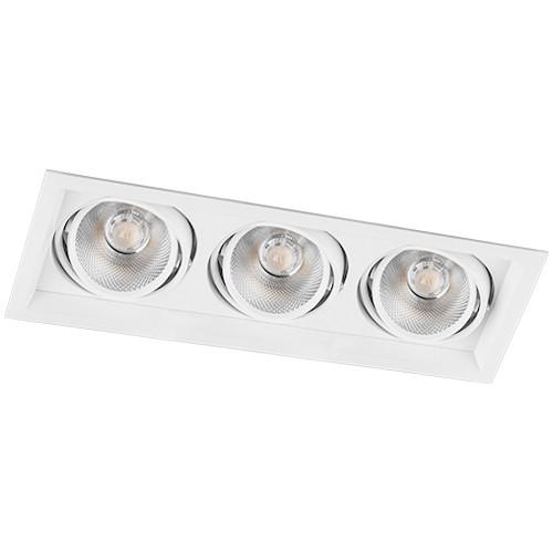 Светодиодный точечный светильник Feron AL203 3xCOB 12W Белый