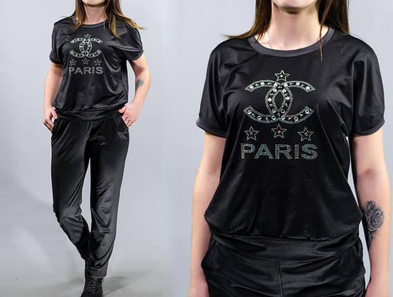 """Стильный спортивный женский костюм кофта+брюки """"Дайвинг"""" 46, 48, 50, 52, 54 размер батал, фото 2"""