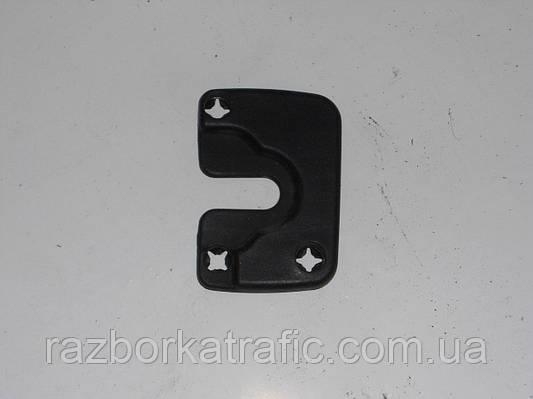 Накладка замка двери передней правойна Renault Kangoo