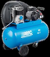 Компрессор Abac A29B/90 CM3 ременной двухцилиндровый  (2,2 кВт, 320 л/мин, 90 л)
