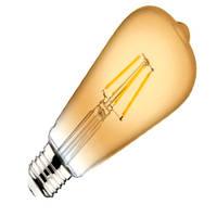 Лампа FILAMENT LED HOROZ ELECTRIC RUSTIC VINTAGE-4 4W 2200K E27 360Lm 220-240V