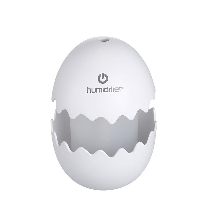 Увлажнитель воздуха SUNROZ Egg Портативный увлажнитель воздуха Яйцо, LED, USB, 100 мл, Белый (SUN0270)