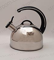 Чайник Krauff Wert объёмом 2.5 л со свистком