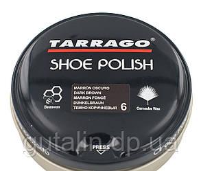 Крем-паста для обуви Tarrago Shoe Polish, 100 мл, цв темно коричневый (06)