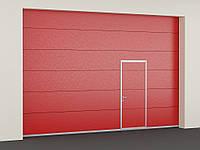 Секционные противопожарные ворота с классом огнестойкости EI60 4000\2750мм